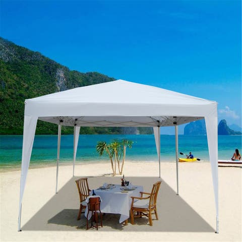 NewAge 10 x 20ft. Home Use Outdoor Camping Waterproof Folding Gazebo Canopy Tent