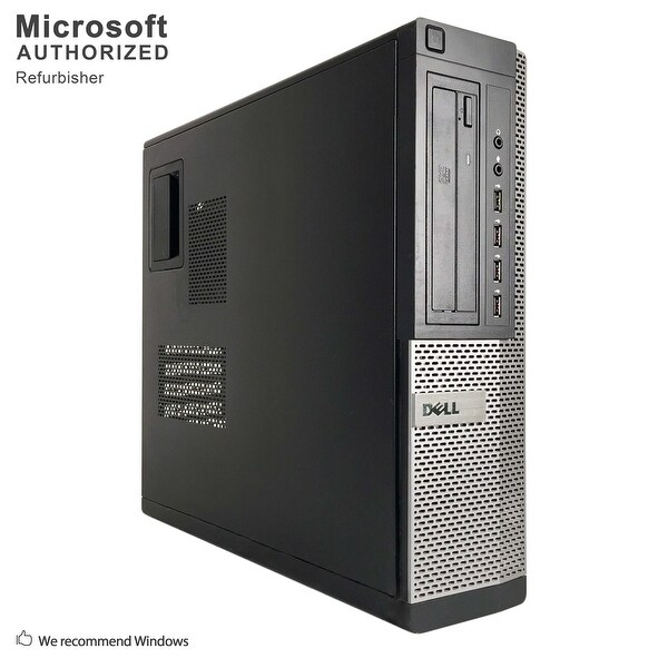 Dell OptiPlex 790 DT Intel Core i3 2120 3.30GHz, 8GB RAM, 120GB SSD, DVD, WIFI, BT 4.0, VGA, HDMI DP, WIN10P64(EN/ES)