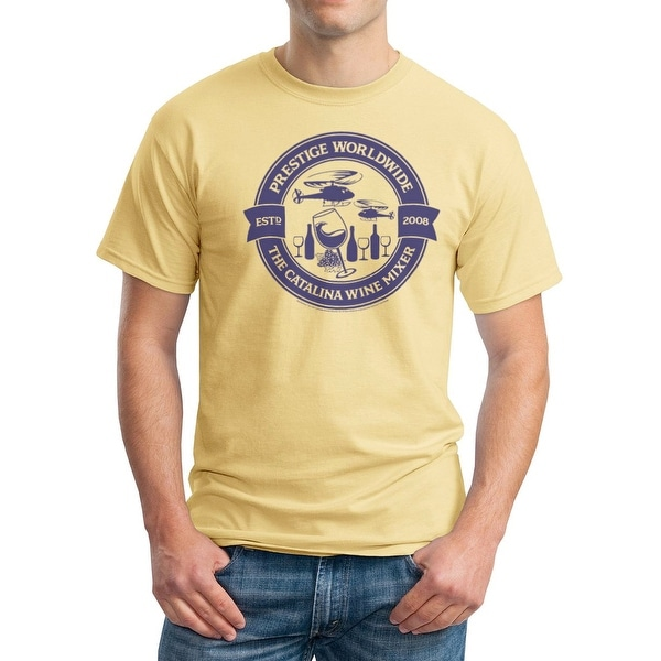 63e76937 Shop Step Brothers Catalina Wine Circle Men's Vegas Gold T-shirt - Free  Shipping On Orders Over $45 - Overstock - 17380527