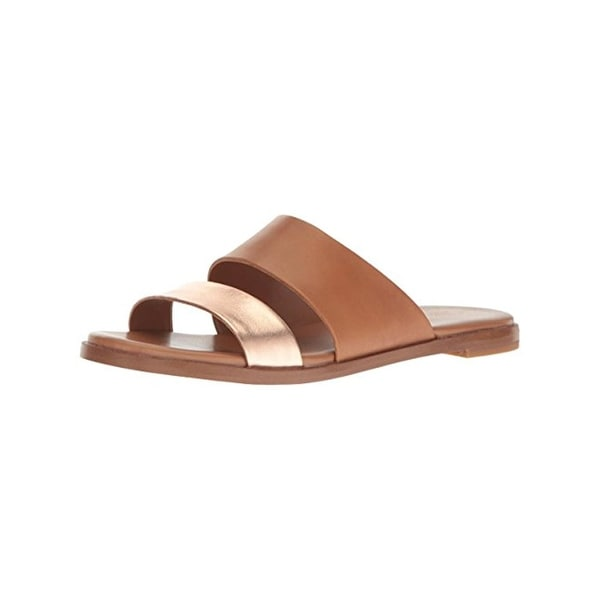 b61dcb6b0 Shop Cole Haan Womens Anica Slide Sandals Leather Open Toe - Free ...
