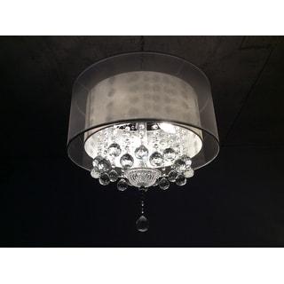 "19"" MOISELLE CRYSTAL CEILING LAMP"