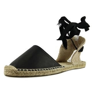 Soludos Sandal Espadrille Round Toe Leather Espadrille
