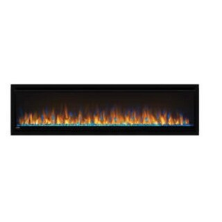 "Napoleon NEFL60CHS  Alluravision 5000 BTU 60"" Wide Slimline Wall Mounted Electric Fireplace - Black"