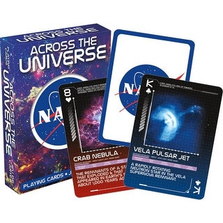 Link to NASA - Across the Universe Playing Cards - Multi Similar Items in Casino Games