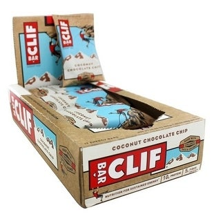 Clif Bar Coconut Chocolate Chip (Box of 12)