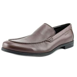 Calvin Klein Jeans Larmond Round Toe Leather Loafer