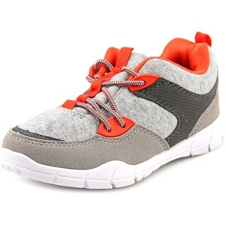 Carter's Tanker Youth Round Toe Synthetic Gray Sneakers