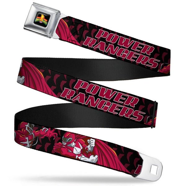 Power Rangers Logo Full Color Power Rangers Lord Zedd Red Ranger Battle Seatbelt Belt