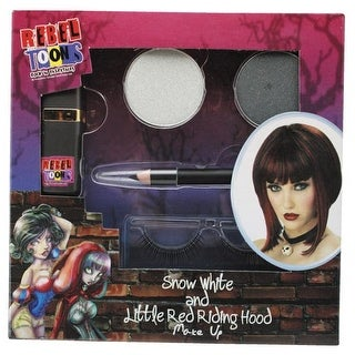 Snow White & Red Riding Hood Costume Make Up - gray