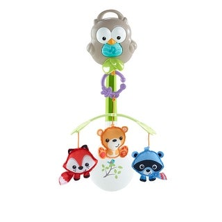 Fisher Price Woodland Friends 3-in-1 Musical Mobile Woodland Friends 3 In 1 Musical Mobile