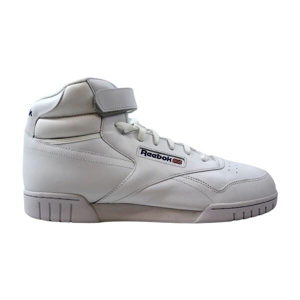 70fa727a634f2 Shop Reebok Ex-O-Fit Hi White 3477 Men s - Free Shipping Today ...