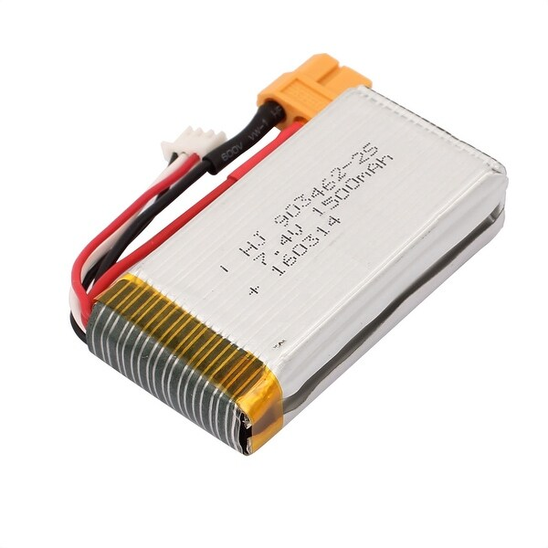 DC 7.4V 1500mAh Rechargable Lithium Polymer Battery for RC Toy Cars