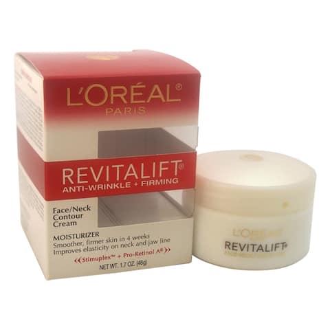 Revitalift Anti-Wrinkle & Firming Moisturizer For Face & Neck By Loreal Paris For Unisex - 1 7 Oz Contour Cream