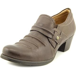 Naturalizer Kaz   Round Toe Leather  Loafer