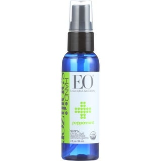 Eo Hand Sanitizer, Spray, Peppermint, 2 Oz (Pack Of 6)