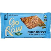 Go Raw Sprouted Bar - Pumpkin Seed - Case of 20 - 1.8 oz.