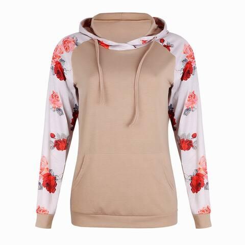 Women's Lace-Up Hooded Sweatshirt