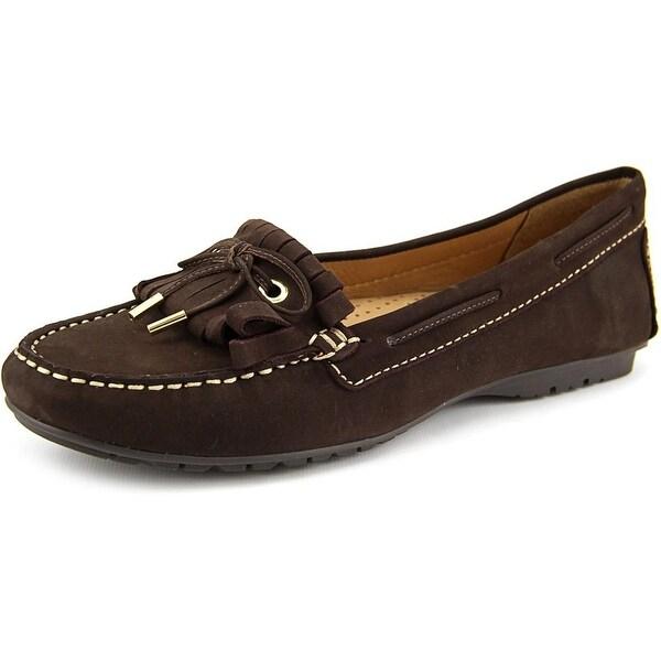 Sebago Meriden Kiltie Women Moc Toe Leather Brown Loafer