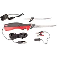 Berkley Deluxe Electric Fillet Knife Kit - Black