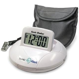 Sonic Alert SBP100ss Portable Vibrating Alarm Clock