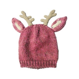 Farm Girl Western Hat Girls Reindeer Ear Horns Pink 1478204