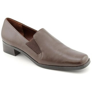 Trotters Ash N/S Round Toe Leather Loafer