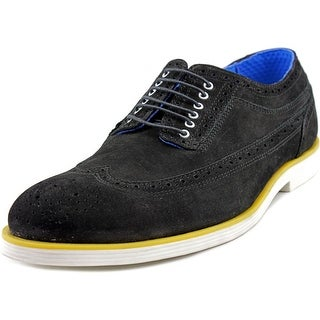 Swear London Logan 3 Men Wingtip Toe Suede Multi Color Oxford
