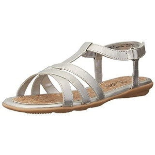 Balleto Girls Tess Faux Leather Youth T-Strap Sandals - 1