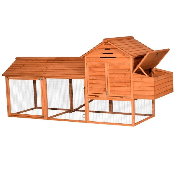 Lovupet 9.3ft Extra Large Wooden Chicken Pet Coop House Hutch 0324. Opens flyout.