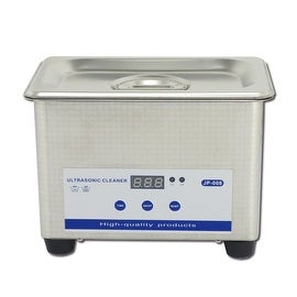 0.8L Professional Digital Ultrasonic Cleaner Machine with Timer Heated Stainless steel Cleaning tank 110V US standard