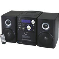 """""""Supersonic SC-807 Supersonic SC-807 Micro Hi-Fi System - iPod Supported - CD Player, Cassette Recorder - 1 Cassette(s) - AM, FM"""