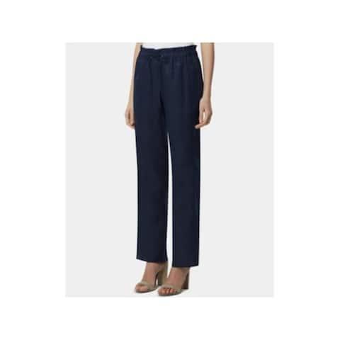 TAHARI Womens Navy Pants Size 8