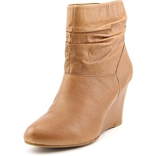 Chinese Laundry U Bet Round Toe Leather Ankle Boot