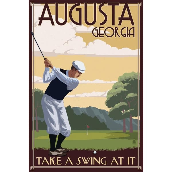 Shop Augusta Georgia Take A Swing At It Lantern Press