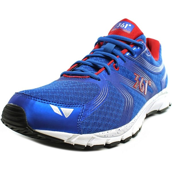 361 Wildstar Men Nautical Blue/Chili/White Running Shoes