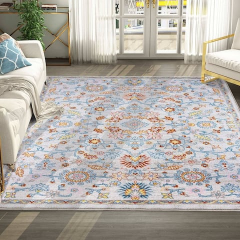 Modern & Contemporary Floral Pattern Area Rugs