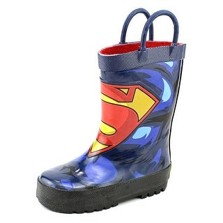 Western Chief Superman Forever Toddler Round Toe Synthetic Rain Boot