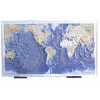 Hubbard Scientific Map Ocean Floor Raised Relief
