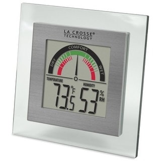 La Crosse Technology LCRWT137UM La Crosse Technology WT-137U Digital Thermometer/Hygrometer with Comfort Meter
