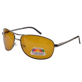 Eyekepper Pilot Spring Hinge Polarized Lens Day/Night Vision Driving Glasses Sunglasses