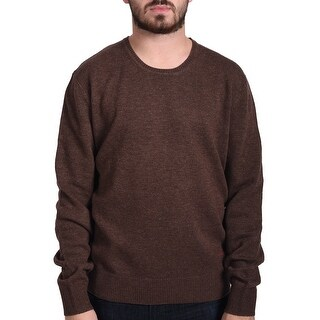Valentino Men's Crew Neck Sweater Brown