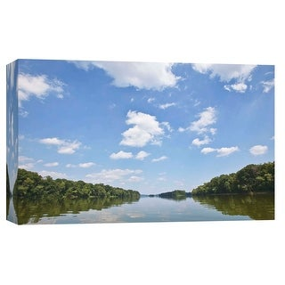 """PTM Images 9-103779  PTM Canvas Collection 8"""" x 10"""" - """"On the Potomac River"""" Giclee Forests Art Print on Canvas"""