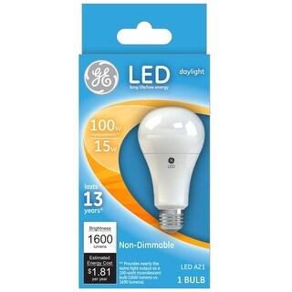 GE Lighting 65764 Non-Dimmable LED Light Bulb, 15 W, 1600 Lumens