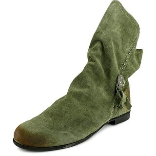 Coconuts By Matisse Chippewa Women Round Toe Leather Green Ankle Boot