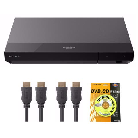 Sony UBP-X700 4K Ultra HD Blu-ray Player with Dolby Vision Bundle - Black