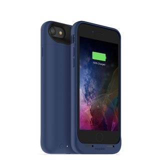 Mophie Juice Pack Air - Wireless Charging Protective Battery Pack Case for iPhone 7 - Blue