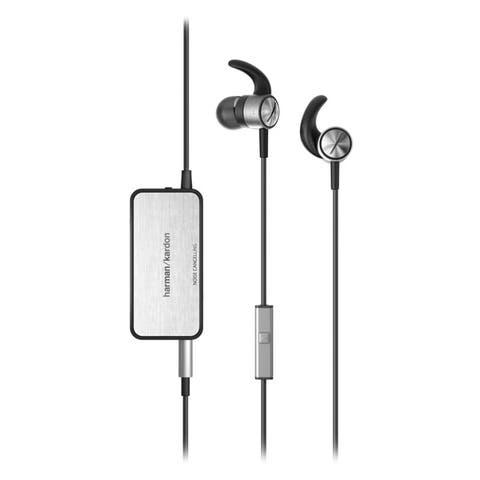 Harman Kardon Soho II Noise Cancelling Earbud Headphones - Black - 7.12 x 5.12 x 1.8