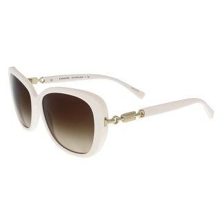 Coach HC8164 512613 White Square sunglasses