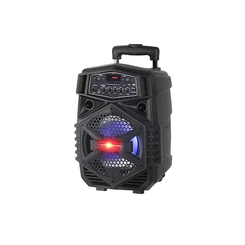 "8"" Powered Rechargeable PA Speaker"