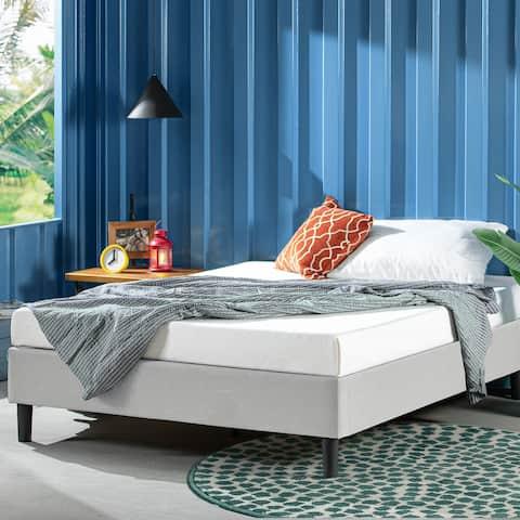 Priage by ZINUS Upholstered Platform Bed Frame